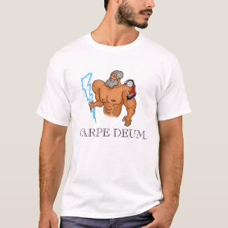 T-shirt Carpe Deum