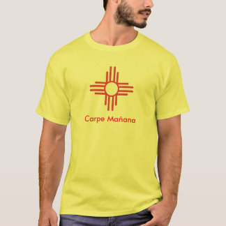 T-shirt Carpe Mañana, Zia