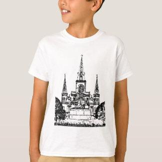T-shirt Carré de Jackson, la Nouvelle-Orléans, LA