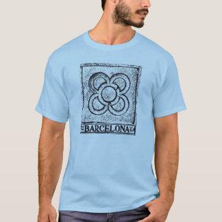 T-shirt Carreau de Barcelone Moderniste