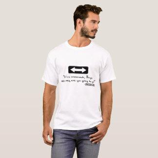 T-shirt Carrefours par la chemise des hommes de cerf de