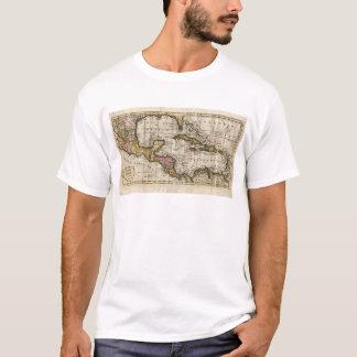 T-shirt Carte 1790 des Antilles par Dilly et Robinson