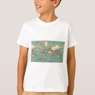 T-shirt Carte 1919 du monde