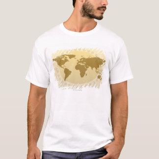 T-shirt Carte 5 du monde