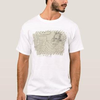 T-shirt Carte antique de la Chine