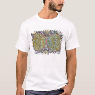 T-shirt Carte céleste des planètes