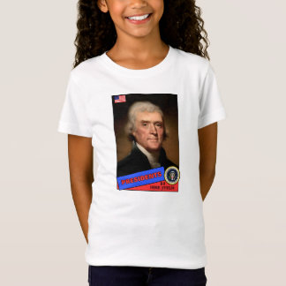 T-Shirt Carte de base-ball de Thomas Jefferson