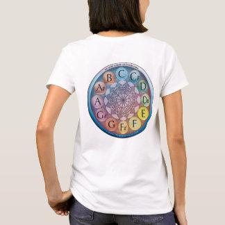 T-shirt Carte de Forró et horloge chromatique pointue