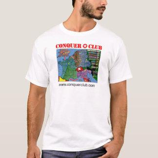 T-shirt Carte de front occidental de 2ÈME GUERRE MONDIALE