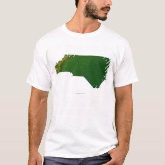 T-shirt Carte de la Caroline du Nord