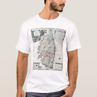 T-shirt Carte de la Corse