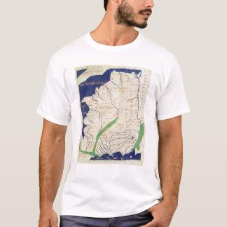 T-shirt Carte de la France, de 'Geographia