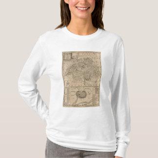 T-shirt Carte de la Suisse