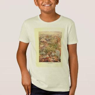 T-Shirt Carte de la vue 1910 aérienne - parc national de
