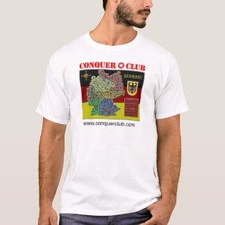 T-shirt Carte de l'Allemagne