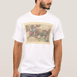 T-shirt Carte de l'empire romain