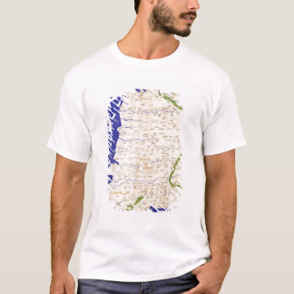 T-shirt Carte de l'Espagne et du Portugal, de 'Geographia