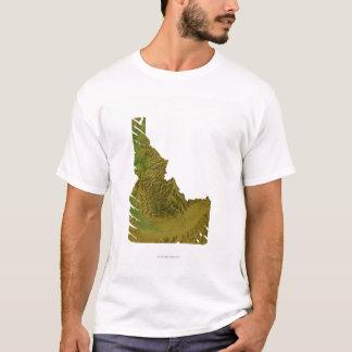 T-shirt Carte de l'Idaho 2