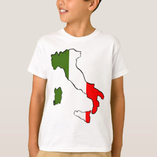 T-shirt Carte de l'Italie