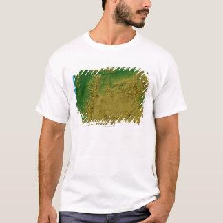 T-shirt Carte de l'Orégon
