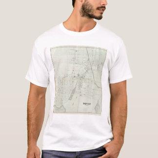T-shirt Carte de Manasquan, New Jersey