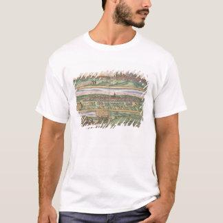 T-shirt Carte de Nuremberg, d'Ulm, et de Saltzburg, de