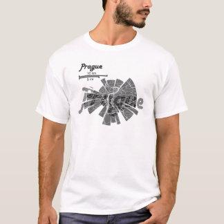 T-shirt Carte de Prague