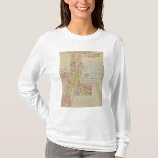 T-shirt Carte de Rochester, Minnesota