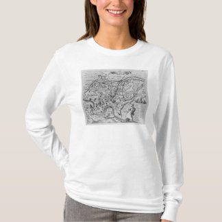 T-shirt Carte de Rome antique