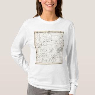 T-shirt Carte de section de T19S R23E Tulare County