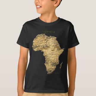 T-shirt Carte de série de l'AFRIQUE