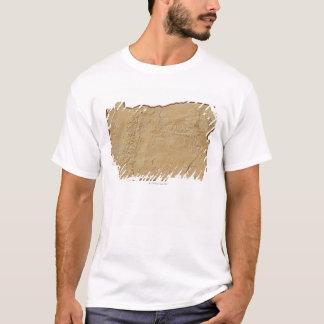 T-shirt Carte de soulagement de l'Orégon 2