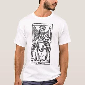 T-shirt Carte de tarot : Justice