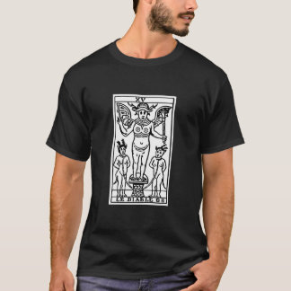 T-shirt Carte de tarot : Le diable