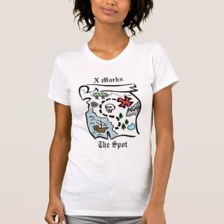 T-shirt Carte de trésor