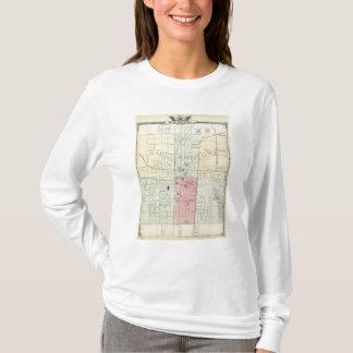 T-shirt Carte de ville de Springfield