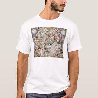 T-shirt Carte des constellations chrétiennes comme