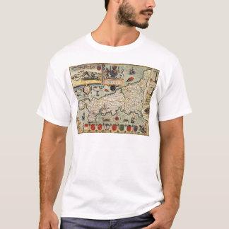 T-shirt Carte des Cornouailles