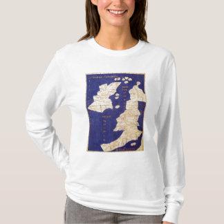 T-shirt Carte des îles britanniques, de 'Geographia