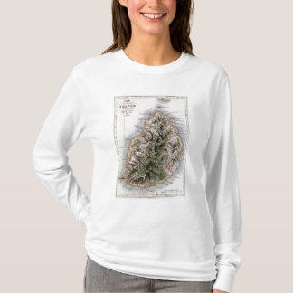 T-shirt Carte des Îles Maurice, illustration 'Paul et