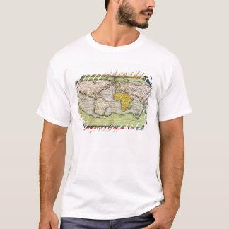 T-shirt Carte dressant une carte monsieur Francis Drake