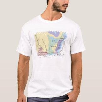 T-shirt Carte du 15ème siècle