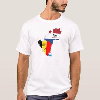 T-shirt Carte du Bénélux
