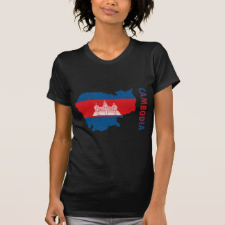 T-shirt Carte du Cambodge