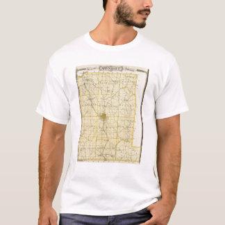 T-shirt Carte du comté de Monroe