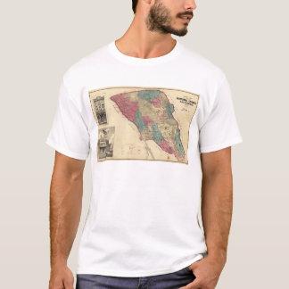 T-shirt Carte du comté de Sonoma la Californie