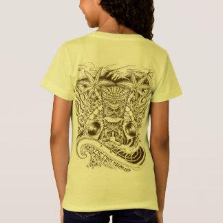 T-Shirt Carte du fonctionnaire 2017 de pièce en t exotique