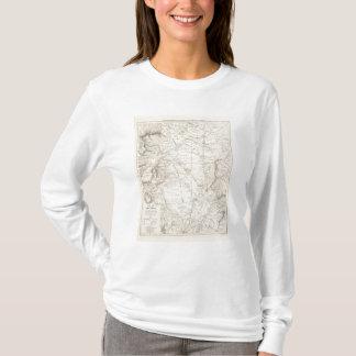 T-shirt Carte du grand Chaco et des régions voisines