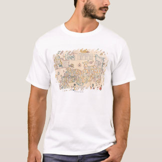 T-shirt Carte du Japon 3