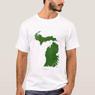 T-shirt Carte du Michigan